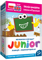 Te gry edukacyjne to prezenty dla dzieci, które bawią i niwelują problemy z koncentracją i problemy z pamięcią. To także sposób na naukę angielskiego